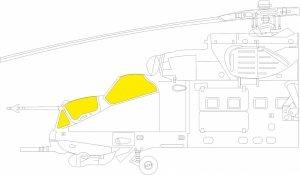 Eduard EX799 Mi-24P TFace ZVEZDA 1/48