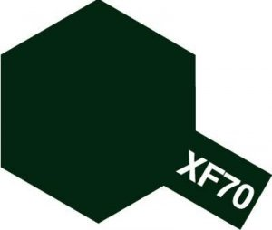 Tamiya 81370 Acryl XF-70 Dark Green 2 (IJN) 23ml