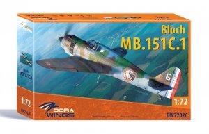 Dora Wings 72026 Bloch MB151C-1 1/72