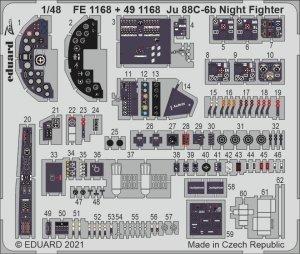 Eduard 491168 Ju 88C-6b Night Fighter interior ICM 1/48
