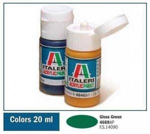 Italeri 4669 GLOSS GREEN 20ml
