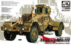 AFV Club 35347 Husky Mk III Vehicle Mounted Mine Detector (VMMD) 1/35