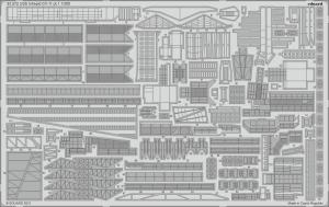 Eduard 53272 USS Intrepid CV-11 pt.1 TRUMPETER 1/350
