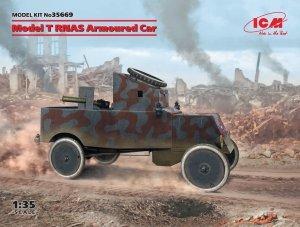 ICM 35669 Model T RNAS Armoured Car 1/35