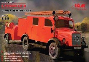ICM 35527 L1500S LF 8 German Light Fire Truck (1:35)
