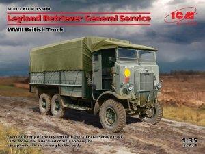 ICM 35600 Leyland Retriever General Service WWII British Truck 1/35