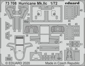 Eduard 73708 Hurricane Mk. IIc for Arma Hobby 1/72