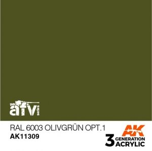 AK-Interactive AK 11309 RAL 6003 OLIVGRÜN OPT.1 17ml