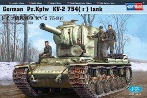 Hobby Boss 84819 German Pz.Kpfw KV-2 754 (1:48)