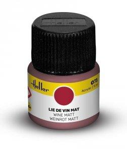 Heller 9073 073 Wine - Matt 12ml