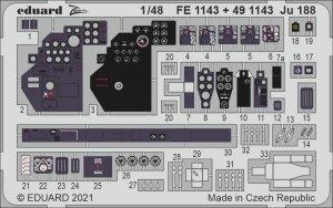 Eduard FE1143 Ju 188 for REVELL 1/48