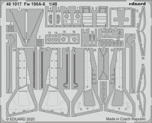 Eduard 481017 Fw 190A-6 for EDUARD 1/48