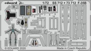 Eduard 73712 F-35B for ACADEMY 1/72