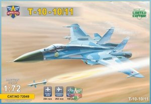 Modelsvit 72049 T-10-10/11 Advanced Frontline Fighter Prototype 1/72
