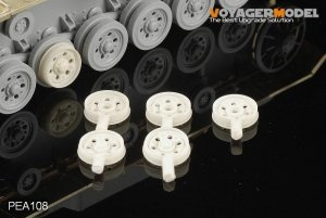 Voyager Model PEA108 Damaged Road Wheels for Pz.Kp.fw III Late Version (For All) 1/35