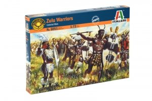 Italeri 6051 Zulu Warriors (Zulu War) 1/72