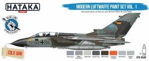 Hataka HTK-BS48 Modern Luftwaffe paint set vol. 1 (8x17ml)