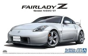 Aoshima 05848 Nissan Z33 Fairlady Z Version Nismo '07 1/24