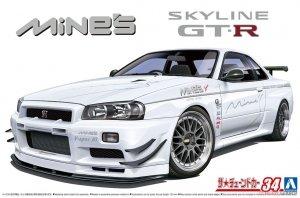 Aoshima 05986 Nissan Skyline GT-R R34 BNR3 1/24