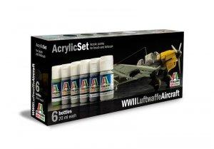 ITALERI 436AP - WWII Luftwaffe Aircraft - Acrylic Set