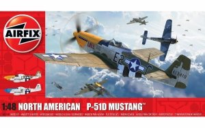 Airfix 05138 North American P-51D Mustang 1/48