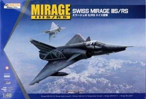 Kinetic K48058 Mirage IIIS/RS 1/48