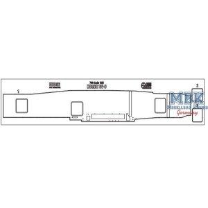 Wood Hunter W70186 USS Hornet CV-8 (Trumpeter 05727) 1/700