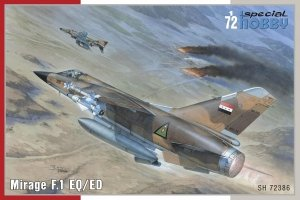 Special Hobby 72386 Mirage F.1 EQ/ ED 1/72