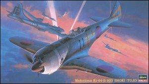 Hasegawa JT36 NAKAJIMA Ki-44-II HEI SHOKI (TOJO) 1/48