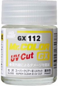 Gunze Sangyo GX112 SUPER CLEAR Ⅲ UV CUT GLOSS