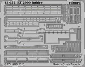 Eduard 48657 EF-2000 ladder 1/48 Italeri Revell