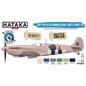 Hataka HTK-BS23 RAF Photo Reconnaissance Units paint set 6x17ml