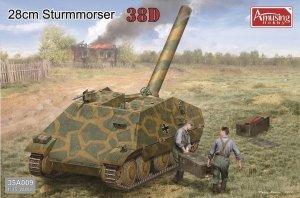 Amusing Hobby 35A009 German 28CM STURMMORSER 38(D) 1/35