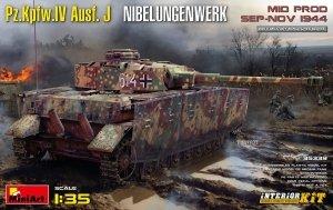 MiniArt 35339 Pz.Kpfw.IV Ausf. J Nibelungenwerk. MID PROD. SEP-NOV 1944 INTERIOR KIT 1/35