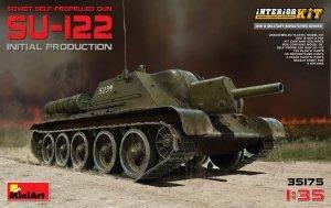MiniArt 35175 SU-122 Initial Production. Interior Kit (1:35)