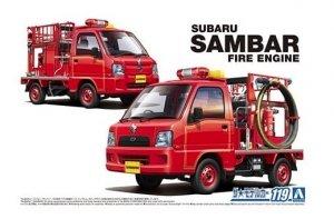 Aoshima 05794 Subaru TT2 Sambar (Fire Engine) 1/24