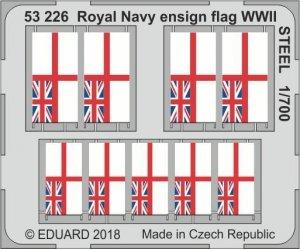 Eduard 53226 Royal Navy ensign flag WWII STEEL 1/700