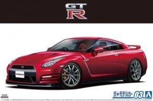 Aoshima 05857 Nissan R35 GT-R Pure Edition '14 1/24