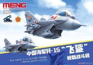 Meng Model mPLANE-008 Carrier-Based Fighter Pla Navy J-15 Flying Shark