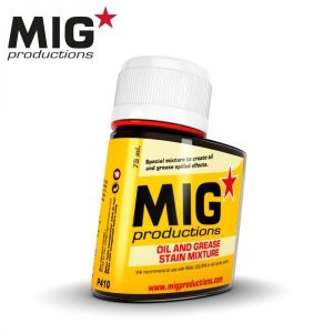 Mig Productions P410 OIL AND GREASE STAIN MIXTURE (75ML)