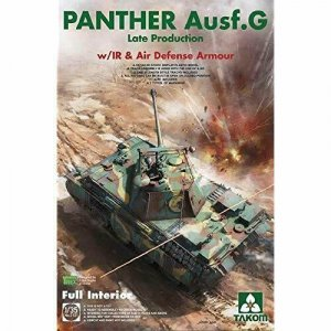 Takom 2121 Panther G Late Production with IR & Antiair Armour 1/35