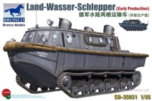Bronco CB35031 Land Wasser Schlepper Early Production 1/35