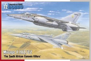 Special Hobby 72435 Mirage F.1AZ/CZ The South African Commie Killers 1/72