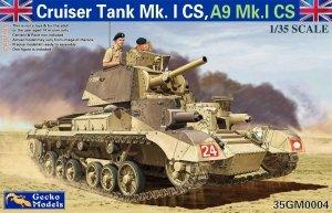 Gecko Models 35GM0004 Cruiser Tank Mk. I CS, A9 Mk.ICS (1:35)