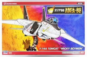 Hasegawa 64744 Area-88 F-14A Tomcat Mickey Scymon 1:48
