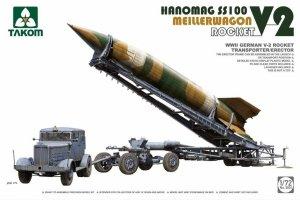 Takom 5001 V-2 Rocket Hanomag SS100 Meillerwagen 1/72