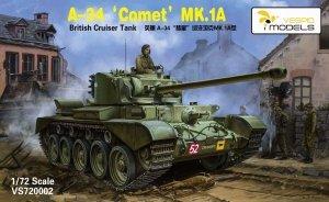 Vespid Models 720002 A-34 'Comet' MK.1A British Cruiser Tank 1/72