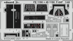 Eduard FE1198 F-84F KINETIC 1/48