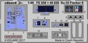 Eduard 49858 Su-35 Flanker E interior KITTY HAWK 1/48