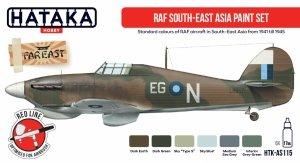 Hataka AS115 RAF South-East Asia paint set 6x17 ml